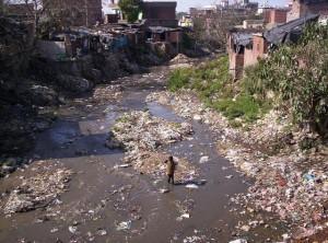 Varoşlar ve kirli nehir...