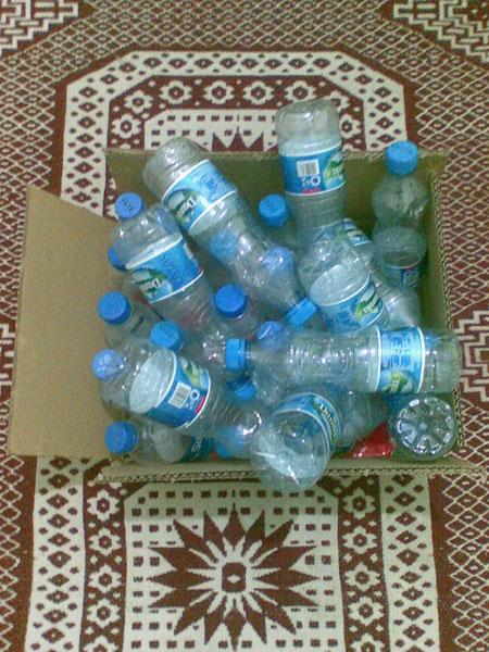 İşte ilk posta şişeler...